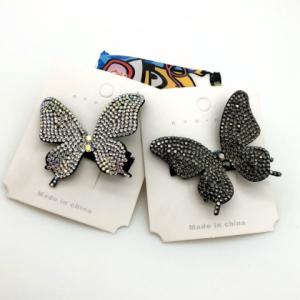 گیره مو پروانهایی