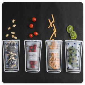 پاکت مواد غذایی 4 عددی | مدل : زیپ دار